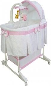 Milly Mally Multifunkční kolébka Milly Mally - Simply Pink