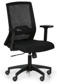 Kancelárska stolička START, čierna