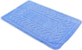 Kúpeľňová predložka 50x80 Sirius modrá