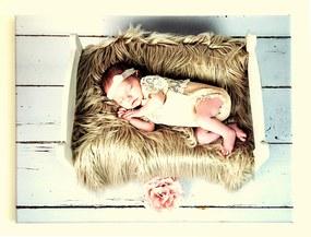 Fotoobraz z plátna s vlastnou fotkou 70x50 cm Polyester