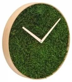 FOREST machové nástenné hodiny 45 cm Červené
