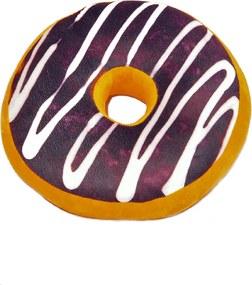 Dekoračný vankúšik Donut s polevou