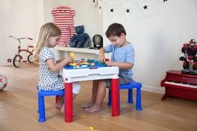 Keny Toys Detský stôl s taburetmi Construct