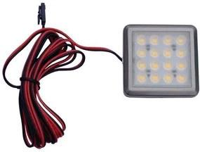 PLUX ODYN Podhľadové bodové svietidlo LED 1.5W 12V DC teplá biela