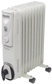 406888 Bestron Olejový radiátor na kolieskach s 9 rebrami ARA9 800/1200/2000W