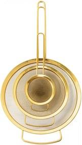 Bloomingville Cedidlo Gold Veľkosť S