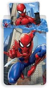 JERRY FABRICS Obliečky Spiderman blue 02 Bavlna 140/200, 70/90 cm