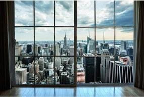 Dimex SK Fototapeta Manhattan z okna 2 rôzne rozmery XL - š-375 x v-250 cm