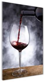 Foto obraz akrylový do obývačky Červené víno pl-oa-70x140-f-52197420