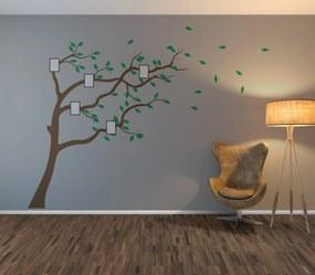 GLIX Strom čtyři roční období - samolepka na zeď