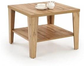 Konferenčný stolík Manta štvorcový dub wotan