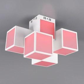 Trio WiZ Oscar stropné LED svietidlo 45x30cm biele