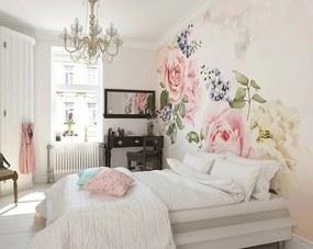 Fototapeta - Roses And Sparkles 300x240 cm