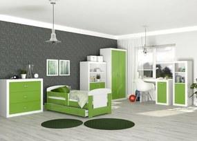 GL Jakub COLOR detská izba 160x80 - zelená