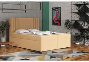 Americká posteľ 120x200 CARA - béžová 5