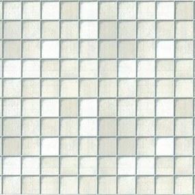 Samolepiace fólie malé kachličky biele, metráž, šírka 67,5cm, návin 15m, GEKKOFIX 11511, samolepiace tapety