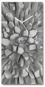 Nástenné sklenené hodiny Abstrakcie 3D pl_zsp_30x60_f_45557275