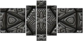 Tlačený obraz Strieborná mozaika 160x80cm 1225A_5J