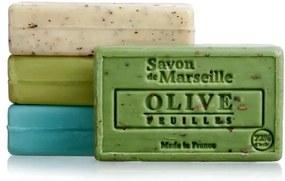 LE CHATELARD Mydlo s peelingom z Marseille 100 g - oliva kvet