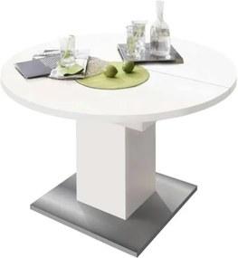 Sconto Jedálenský stôl RUND 104 1010 biela