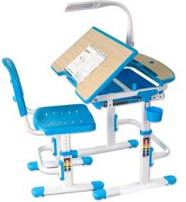 FD Rastúci stôl so stoličkou pre deti Sorelino - viac farieb Farba: Modrá