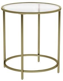 Rongomic Konferenční stolek VASAGLE Tia zlatý