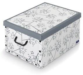 Sivý box Domopak Bon Ton