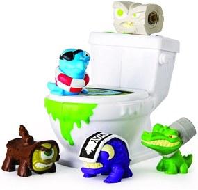 Spin Master Flush Force 4 figúrky + záchod