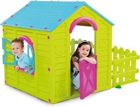 Marimex | Detský domček MY Garden House - zelená + modrá | 11640124