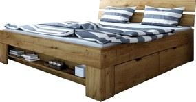 MG Dubová manželská posteľ Stela Rozmer lôžka: 200x140