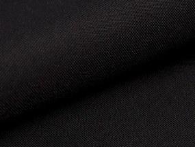 Sedacia súprava Rumba, tvar U, šedá látka/čierna látka
