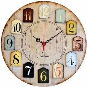 Nástenné hodiny Norberto, ø 40 cm