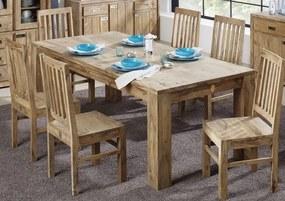 Bighome - LIGHT WOOD Jedálenský stôl 180x100 cm, palisander