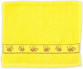 Detský uterák KIDS žltý 30x50 cm