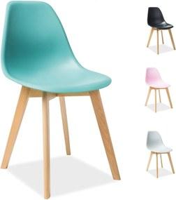 TORY WOOD stolička, Farba biela