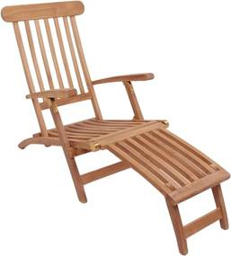 Ležadlo z teakového dreva House Nordic Arrecife