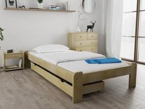 Posteľ Ada 80 x 200 cm, borovica Rošt: Bez roštu, Matrac: s matracom DELUXE 15 cm