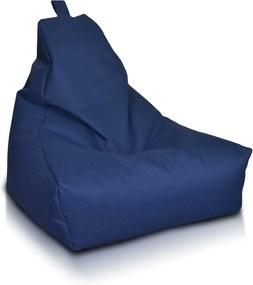 Sedací vak Keiko S Polyester Soft - NC08 - Modrá tmavá