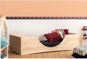 Detská posteľ z borovicového dreva Adeko Pepe Bork, 90 x 170 cm