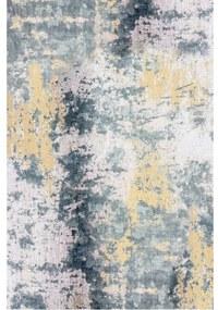 TEMPO KONDELA Marion Typ 1 koberec 160x230 cm sivá / žltá