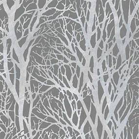 Vliesové tapety na stenu vetvy stromov 30094-3, rozmer 10,05 m x 0,53 m, A.S. Création