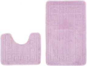 Kúpeľňové predložky 1030 fialové 2Ks, Velikosti 50x80cm
