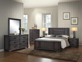 >> Masívna drevená manželská posteľ ENGLAND 180 VER-0060
