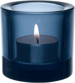 Svietnik Kivi, modrý rain Iittala