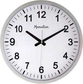 Analógové hodiny Q5 Manutan, autonómne quartz, priemer 40 cm