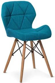 OVN stolička ELIOT 2 modrá
