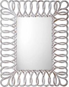 Sevilla IN236 zrkadlo v ráme, 80x120 cm, biele