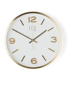 Nástenné hodiny s tichým chodom, Ø 300 mm
