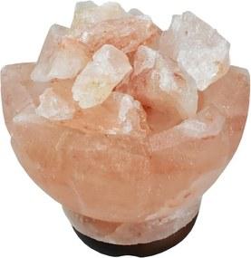 Soľná lampa ruža 2,8 kg