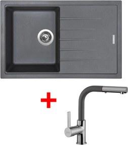 Akčný set Sinks drez BEST 780 + batéria ENIGMA S Titanium